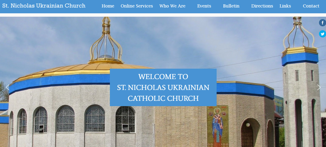 St Nicholas Ukrainian Catholic Church 2020St Nicholas Ukrainian Catholic Church 2020